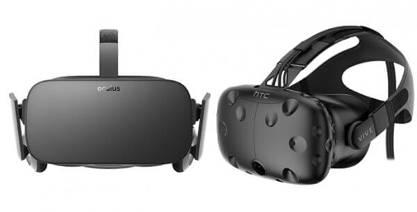 HTC VIve and Oculus Rift