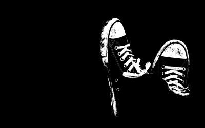 Cool Shoes Wallpaper Black And White #12871 Wallpaper   WallDiskPaper