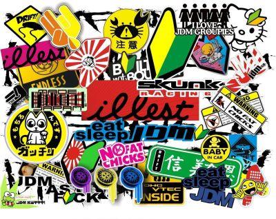 JDM Sticker Wallpapers Group (62+)