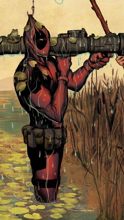 Deadpool iPhone Wallpapers Group (77+)