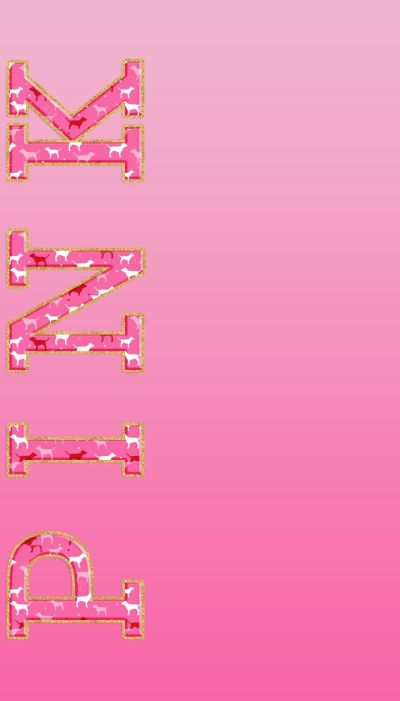 Pink Words Wallpapers Group (57+)