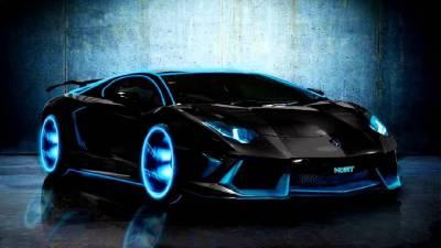 Neon Lamborghini Wallpapers - Top Free Neon Lamborghini Backgrounds - WallpaperAccess