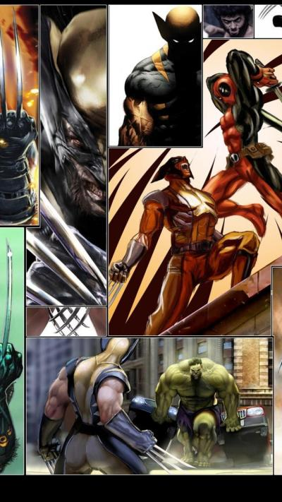 67 Best Free Wolverine vs Deadpool Wallpapers - WallpaperAccess