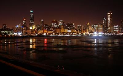 Chicago Skyline Backgrounds - Wallpaper Cave