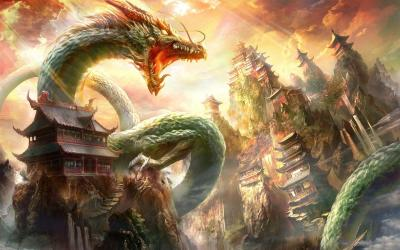 Chinese Dragon Wallpapers - Wallpaper Cave