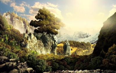 Fantasy Landscape Wallpapers - Wallpaper Cave