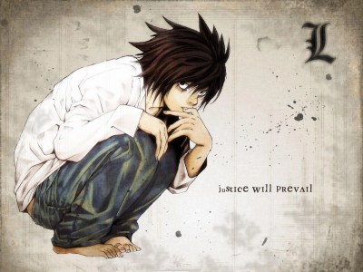 L Wallpapers Death Note - Wallpaper Cave