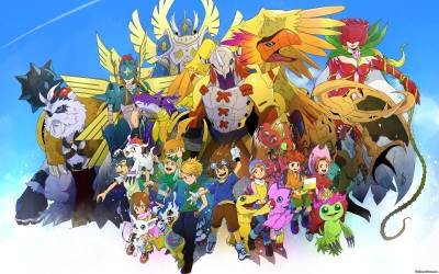Digimon Wallpapers - Wallpaper Cave