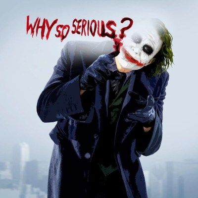 Joker Why So Serious Wallpapers - Wallpaper Cave