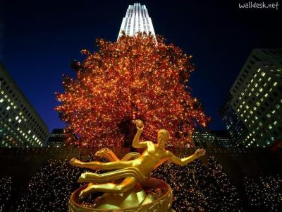 New York Christmas Wallpapers - Wallpaper Cave