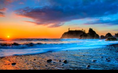 Sunset Beaches Wallpapers - Wallpaper Cave