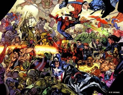 Marvel Vs DC Wallpapers - Wallpaper Cave