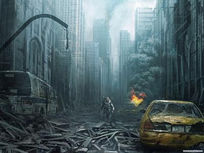 Post Apocalyptic Backgrounds - Wallpaper Cave