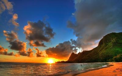 Hawaii Sunset Wallpapers - Wallpaper Cave