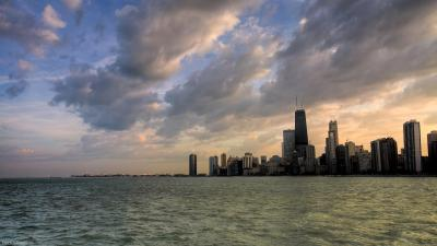 Chicago Skyline Backgrounds - Wallpaper Cave