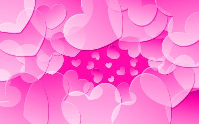 Pink Heart Wallpapers - Wallpaper Cave