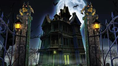 Haunted House Wallpapers - Wallpaper Cave