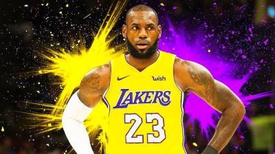 Lebron James Lakers Wallpapers - Wallpaper Cave
