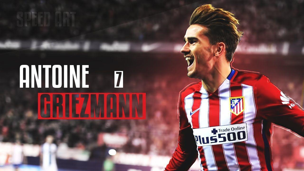 Antoine Griezmann Wallpapers   Wallpaper Cave Antoine Griezmann Wallpaper   Speedart   YouTube