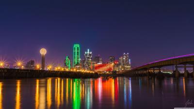 Dallas Skyline Wallpapers - Wallpaper Cave