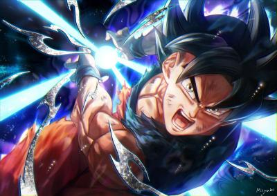 Goku Ultra Instinct Mastered Wallpapers - Wallpaper Cave