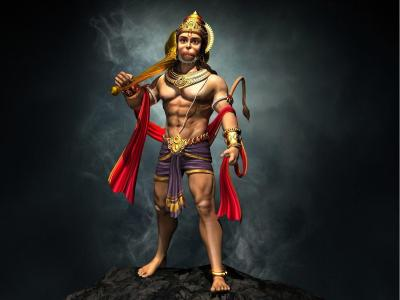 Lord Hanuman Wallpapers HD 3D - Wallpaper Cave