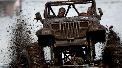 Jeep Wrangler 4x4 Off Road Competition HD Wallpaper - WallpaperFX