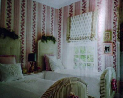 Wallpaper in Southern Living Magazine Decorating | Wallpaperlady's Blog