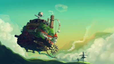 Howl's Moving Castle wallpapers 1920x1080 Full HD (1080p) desktop backgrounds