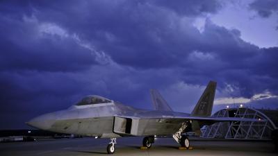 Lockheed Martin F-22 Raptor Wallpaper HD Download
