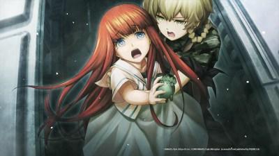 Shiina Kagari i Amane Suzuha. Wallpaper from Steins;Gate 0 - gamepressure.com