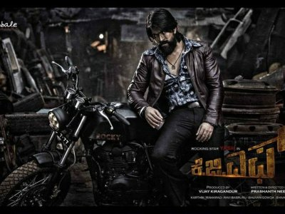 KGF HQ Movie Wallpapers | KGF HD Movie Wallpapers - 48675 - Oneindia Wallpapers