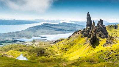 Wallpaper Isle of Skye, Scotland, Europe, nature, travel, 8k, Nature #14973