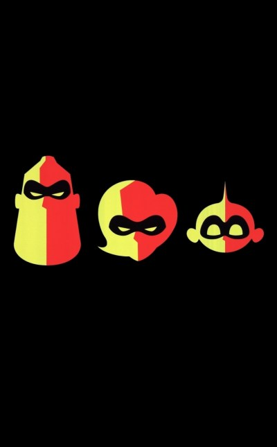 Download 950x1534 wallpaper incredibles 2, dark and minimal, movie, poster, iphone, 950x1534 hd ...
