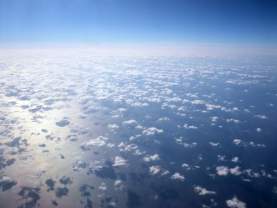 1024x768 Clouds From Above desktop PC and Mac wallpaper