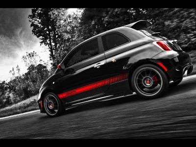 Fiat 500 Abarth Side Angle wallpapers | Fiat 500 Abarth Side Angle stock photos
