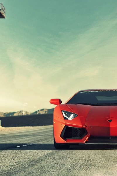 640x960 Lamborghini Aventador LP700-4 Front Iphone 4 wallpaper