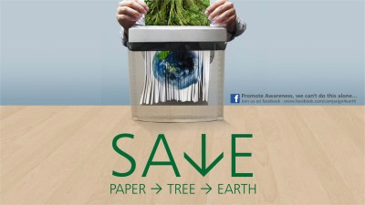 Save Paper Save earth wallpapers | Save Paper Save earth stock photos