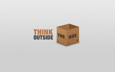 Think Outside The Box wallpapers   Think Outside The Box stock photos