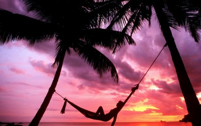 Sunset Beach Hammock Chillout wallpapers | Sunset Beach Hammock Chillout stock photos