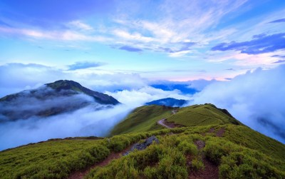 Nice Mountain Top Clouds Foggy wallpapers   Nice Mountain Top Clouds Foggy stock photos