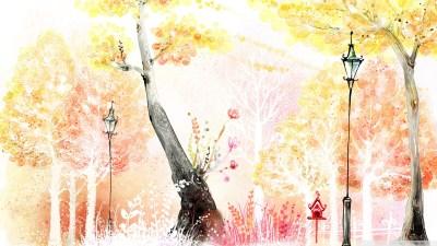 Drawings of Autumn 4K HD Desktop Wallpaper for 4K Ultra HD TV • Wide & Ultra Widescreen Displays