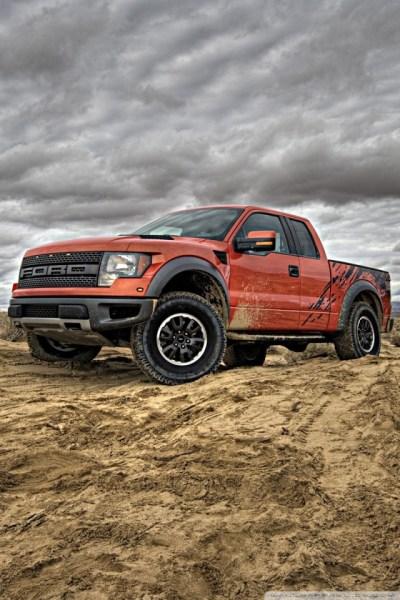 Ford F-150 SVT Raptor 4K HD Desktop Wallpaper for 4K Ultra HD TV • Tablet • Smartphone • Mobile ...