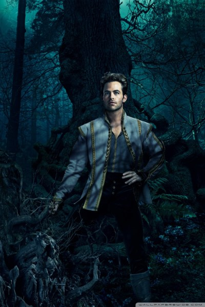 Into the Woods Chris Pine as Cinderella's Prince 4K HD Desktop Wallpaper for • Dual Monitor ...