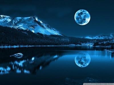 Moonlight Night 4K HD Desktop Wallpaper for 4K Ultra HD TV • Wide & Ultra Widescreen Displays ...