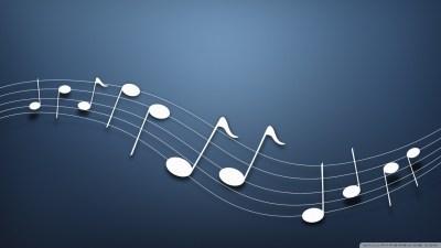 Musical Notes Background 4K HD Desktop Wallpaper for 4K Ultra HD TV • Dual Monitor Desktops ...