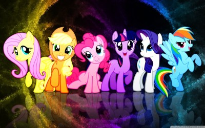 My Little Pony Mane 6 4K HD Desktop Wallpaper for 4K Ultra HD TV • Tablet • Smartphone • Mobile ...