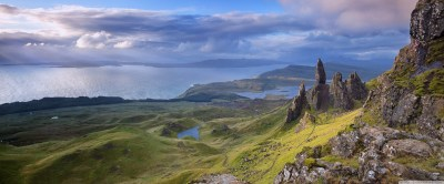 Old Man of Storr, Isle of Skye, Scotland 4K HD Desktop Wallpaper for 4K Ultra HD TV • Wide ...