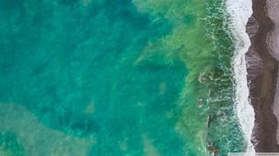Sea, Beach, Italy, Aerial View 4K HD Desktop Wallpaper for • Wide & Ultra Widescreen Displays ...