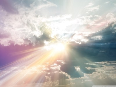 Sun Rays Through The Clouds Colorful 4K HD Desktop Wallpaper for 4K Ultra HD TV • Wide & Ultra ...